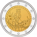 Estonia 2€ commemorative coin 2019 - Song Festival's 150-year anniversary