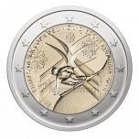 Andorra 2 Eur 2019  juubelimünt –  Alpisuusatamise maailmameistrivõistluste finaal Andorras
