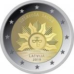 Läti 2019 a 2€ juubelimünt  - Tõusev päike