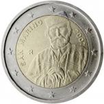 San Marino 2007 2 eur juubelimünt - Giuseppe Garibaldi 200. sünniaastapäev