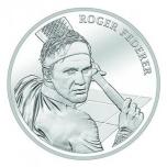 Роджер Федерер - Швейцария 20 франков 2020 г. 83.5%  серебряная монета, 20 гр.
