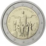 2 € юбилейная монета 2013 г.  Ватикан - XXVIII Всемирный день молодёжи в Рио-де-Жанейро