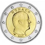 Монако 2 €  2017. года