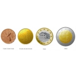Andorra käibemündid 2014.a.  blisterpakendis