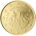 Сан - Марино 50 цент  2008. года