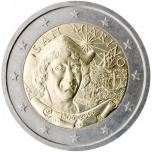 San Marino 2€ erikoisraha 2006 - Kristoffer Kolumbuksen kuoleman 500. vuosipäivä