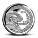 Europa «Эпоха барокко и рококо» Бельгия 10€ 2018.г 92,5% Серебряная монета, 18,75 г.