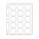 Пластиковый лист ENCAP для монет в капсуле 44/45 мм - 2 листа в упаковке
