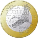 2 € юбилейная монета  2019 г. Словения  - 100 лет со дня присоединения Прекмурского края к родине