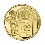 Belgia 2019.a. 2 1/2 € juubelimünt - Pissiv Poiss purskkaev 400 aastat.