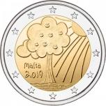 Malta 2019 a 2€ juubelimünt - Loodus ja keskkond mündikaart
