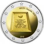Malta 2015 a 2€ juubelimünt - Malta Vabariik 1974
