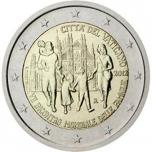 2 € юбилейная монета 2012. г.  Ватикан - VII Всемирная встреча семей в Милане
