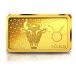 Знаки зодиака -Телец. Соломоновы Острова 10 $ 2020 г. 99,99% золотая монета. 0,5 гр