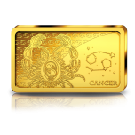 Zodiac Series 2020 Cancer. Solomon Islands 10$ 2020 99,99% Gold Coin 0,5 g