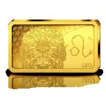 Horoskooppimerkit - Leijona - Salomonsaaret 10 $ 2020.v. 99,99% kultaraha 0,5 g