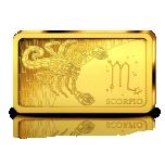 Sodiaagimärgid -Skorpion Saalomoni saarte 10 $ 2020.a  0,5 g 99,99% kuldmünt
