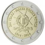 2 € юбилейная монета   2014 г. Мальта - Независимость 1964 года