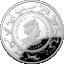 Rotan vuosi 2020 - Australia 5 $ 99,9% hopearaha, 1 unssi