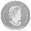 Birthstone February. Canada 5$ 2020 99,99% silver coin with Swarovski crystals, 7,96 g