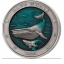 «Подводный мир -Синий кит» - Барбадос 5$  2020 г.  99,9% серебряная монета выполнена в технике цветной печати с ультра высоким рельефом. 3 унции