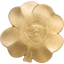 Neliapila - Unssi Onnea! - Palau 5 $ 2020.v. 92,5%  hoperaha kultauksella, 1 unssi