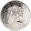 Number Pi (π)- Saalomoni saarte 3,14 $ 2020.a  1 untsine  99,9% hõbemünt