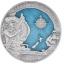 James Cookin  250 vuotta Australian retkikunnasta. Salomonsaaret 2020.v, 10 $ 99,9% hopearaha, 3 unssi