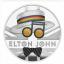 Muusika legendid - Elton John  - Suurbritannia 2 £ 2020.a.värvitrükis  1-untsine 99.9%  hõbemünt