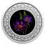 Floral Emblems of Canada: Quebec Blue Flag Iris Canada 3$ 2020 99,99% Silver Coloured Coin 7,96 g