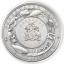 Vedenalainen maailma, Meritursas -  Barbados 2021.v. 5 $ 99,99% hopearaha, antiikkipatinointi, 3 unssi
