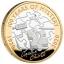 Agatha Christie. 100 aastat müsteeriume. Suurbritannia 2 £ 2020.a. 92,5% hõbemünt, 12 g