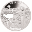 Shapes of Africa. Cut-Out Silver Coin Collection . Djibouti 250 Fr 2019. 99,9% silver coin collection of 8 1 oz silver coins