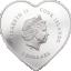 Kallile Sõbrale - Happy Valentine 2021. Cooki saarte 5$ 2021.a. 99,9% hõbemünt Swarovski® kristallidega.  20 g