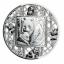 «Панда» - Соломоновы Острова 5$ 2021 г. 99,9% серебряная монета в технике филигрань. 2 унции,