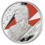 David Bowie -Musiikkilegenda.  Iso-Britannia 2 £ 99,9%  hopearaha, 1 unssi
