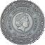 Eir - Tervisejumalanna - Ghana 5 Cedi 2021.a. antiikviimistlusega värvitrükis 99,9% hõbemünt. 50 g