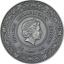 Eir -  Parantamisen jumalatar  Ghana 5 cedi 2021 v. 99,9% hopearaha väripainatuksella, antiikkipatinointi 50 g