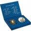 Tropical Pelican Set - Barbados 10$ gold coin and 1$ silver coin 2020 set