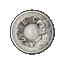 Muinainen Egypti herää eloon yhdellä Kilo Giant hopealla! - Samoa 2019.v 25 $  99,9% hopearaha antiikkipatinointi, 1 kilo