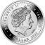«» Острова Ниуэ. 1 $ 2021 г.  99,9% серебряная монета с позолотой.  17,5 г