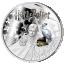 Harri Potter - Samoa 5 $ 2021 v. - kokonaisuus kolmesta 99,9% hopearahasta väripainatuksella