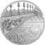 Tiffany kunst. Metropol Pariis - Palau 20$ 2021, 3-untsine 99,9% hõbemünt