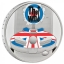 «Легенды музыки» - The Who, Великобритания 2 £ 2021 г 99,9% серебрянная монета с цветной печатью. 31.1 г