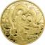 Lohikäärme - Samoa 0,2$ 2021.v. kuparinikkeli raha kultauksella