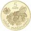 Tarhamehiläinen. Slovakia 5€ 2021 erikoisraha