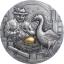 Müüdid ja muistendid. Hani, kes munes kuldmune. Palau 10$ 2020.a.  2-untsine antiikviimistlusega 99,9% hõbemünt