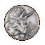 TRCERATOPS - Vanuatu 10 Vatu 2022 Antique Finish Silver & Copper coin