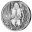 """""""Горилла"""" - Джибути 2000 франков 2018.г. 99.9% серебряная монета с двухсторонним ультра высоким рельефом и обратным пруф (reverse proof) качеством. 1 килограмм"""