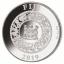 Sea aasta 2019 -Fiji 10$ ehtsa mageveepärliga ja kullatisega  1-untsine 99,9% hõbemünt